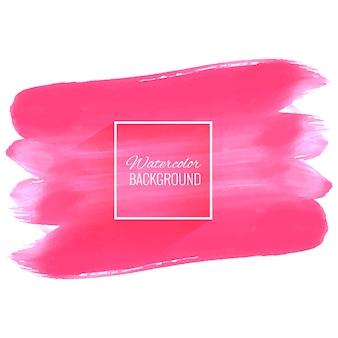 Design elegante tratto rosa acquerello morbido
