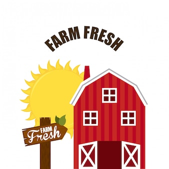 Design fresco di fattoria