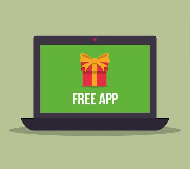 Design gratuito di app