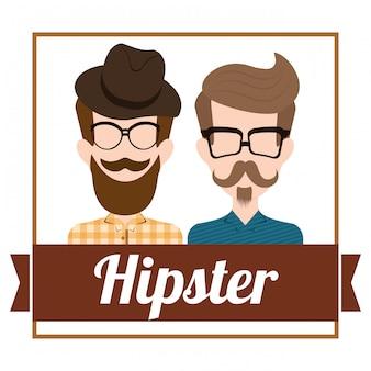 Design in stile hipster