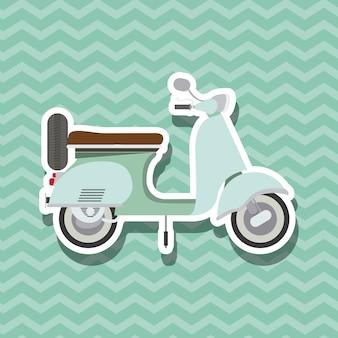Design in stile scooter