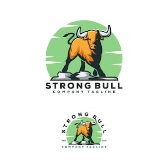 Design logo bull