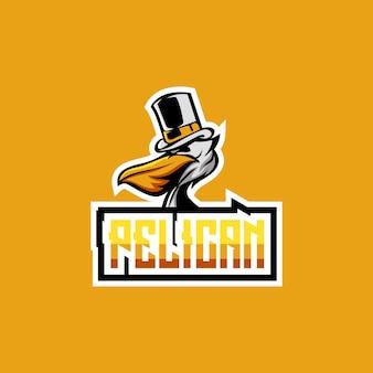 Design logo pelican