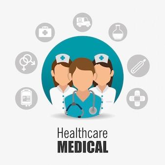 Design medico sanitario.