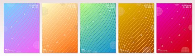 Design minimale delle copertine.