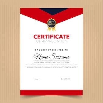 Design moderno certificato con elementi