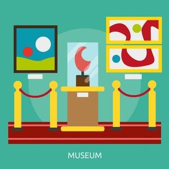 Design museum di sfondo