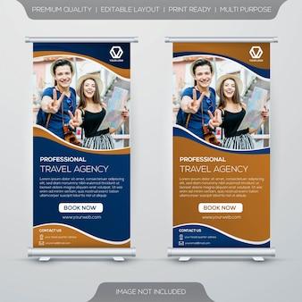 Design per banner stand itinerante