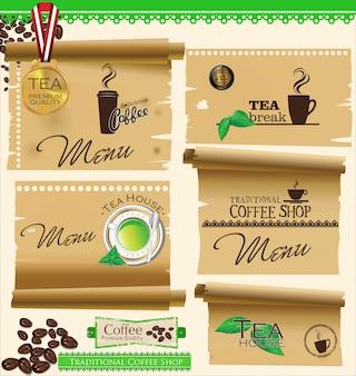 Design per caffè e tè