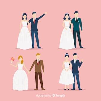 Design piatto della collezione sposi