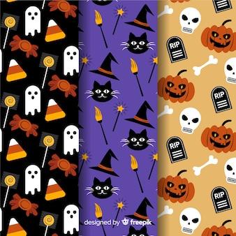 Design piatto di collezione modello halloween