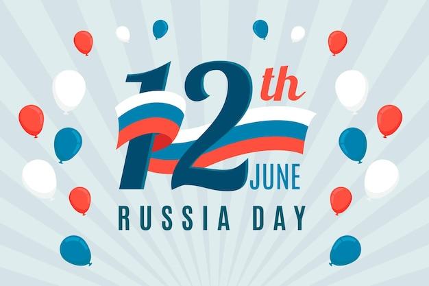 Design piatto russia giorno sfondo