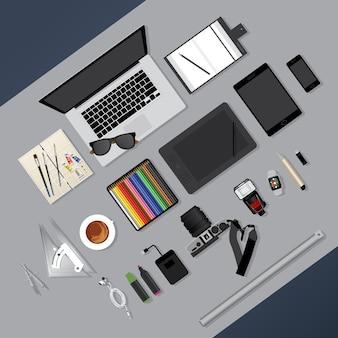 Design piatto
