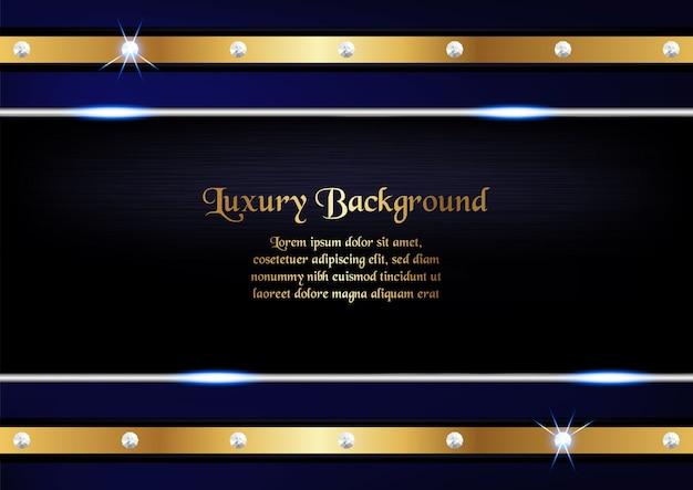 Design premium blu per cover