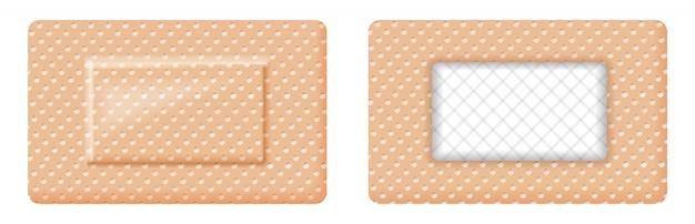 Design rettangolare di cerotto