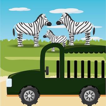 Design safari africano