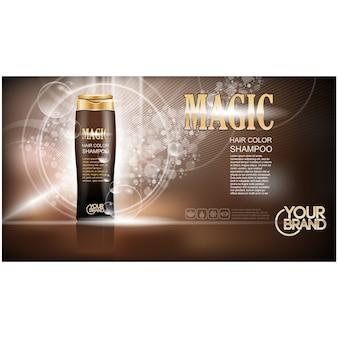 Design shampoo sfondo