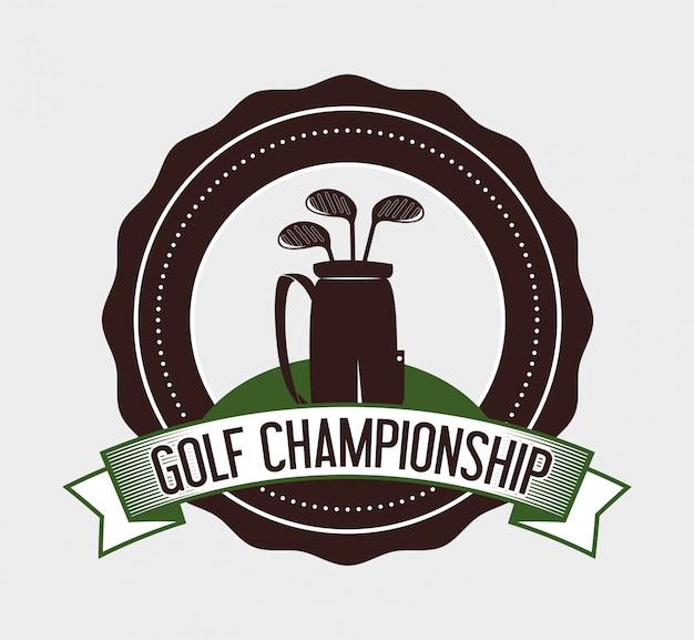 Design sportivo da golf