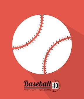 Design sportivo su sfondo rosso