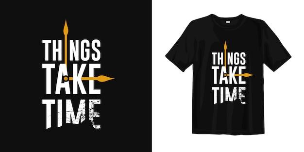 Design t-shirt con simbolo dell'ago