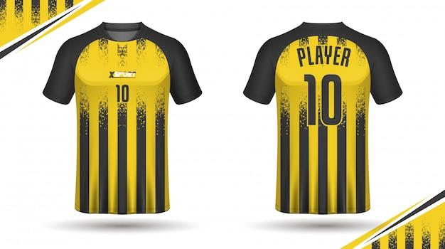 Design t-shirt da calcio