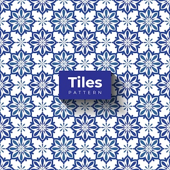 Design vintage seamless pattern piastrelle