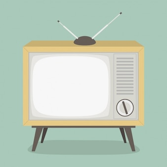 Design vintage televisione