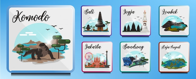 Destinazioni turistiche in indonesia