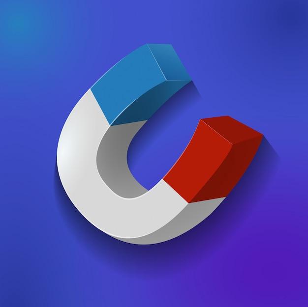 Dettaglio magnete dettaglio gioco elemento icona
