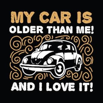 Detto e citazione di auto classiche
