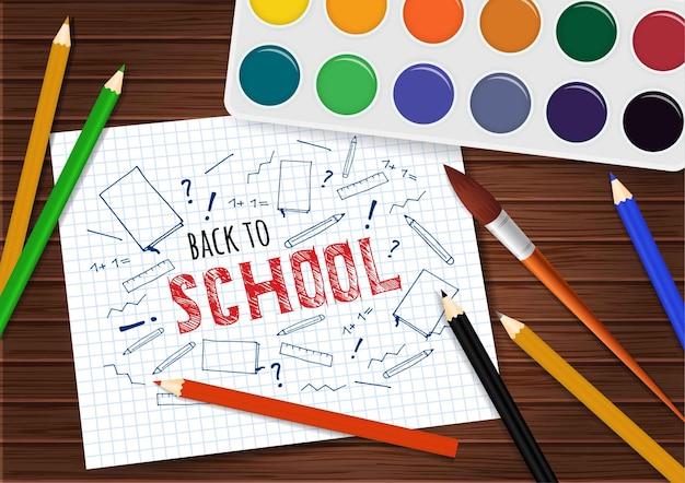 Di nuovo a scuola.