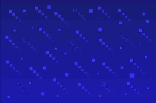 Diagonale sottosopra pixel pioggia sullo sfondo
