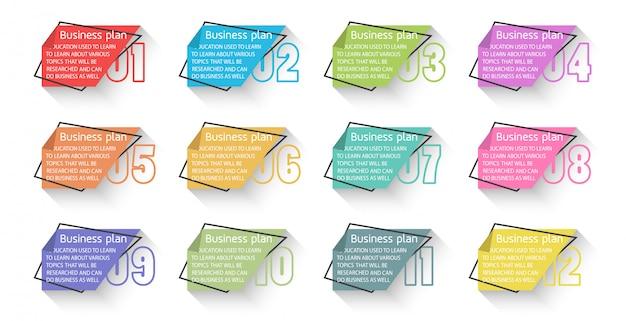 Diagramma affari ed educazione utilizzati in vari progetti educativi di persone in cerca di conoscenza