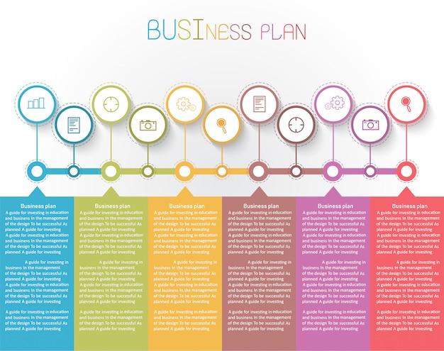 Diagramma di educazione. ci sono 11 passi, livello usa i vettori nella progettazione