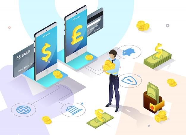 Diapositiva di sincronizzazione del portafoglio di banner informativi.