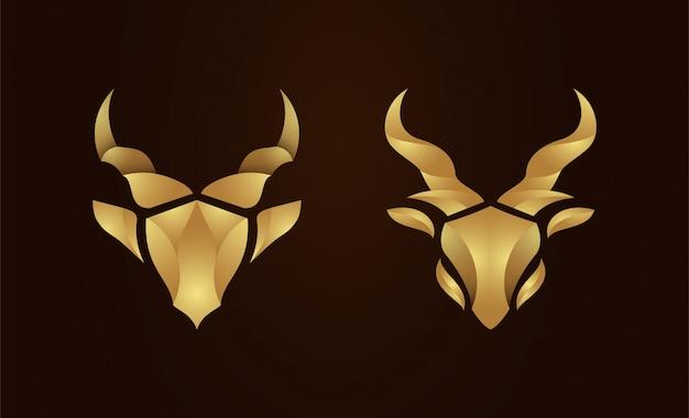 Digital bird origami logo vector template