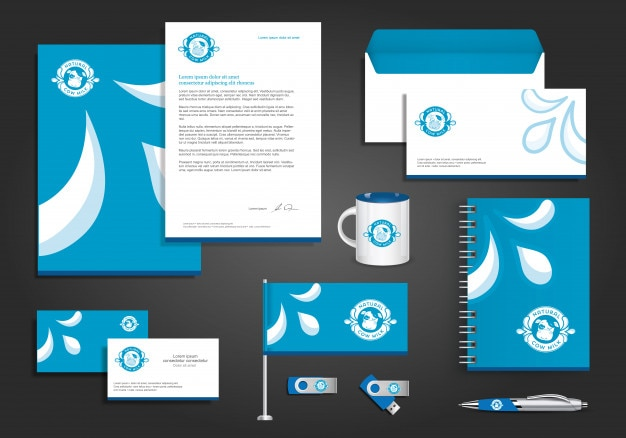 Digital tech sport identità aziendale, articoli da regalo template design con il concetto di collegamento impostato abstract mock up