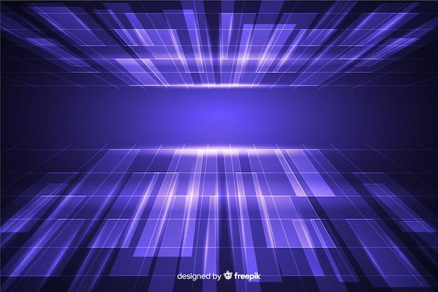 Dimensione dell'orizzonte con design futuristico