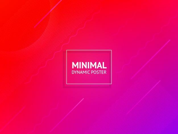 Dinamico colorato vibrante vibrante sfondo colorato