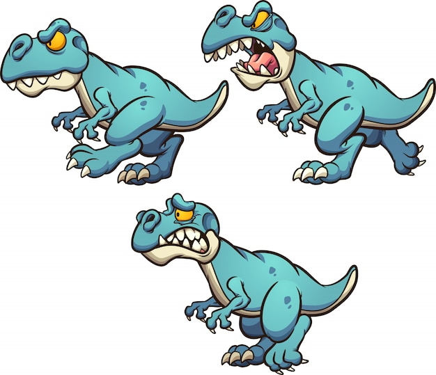 Dinosauro cartoon