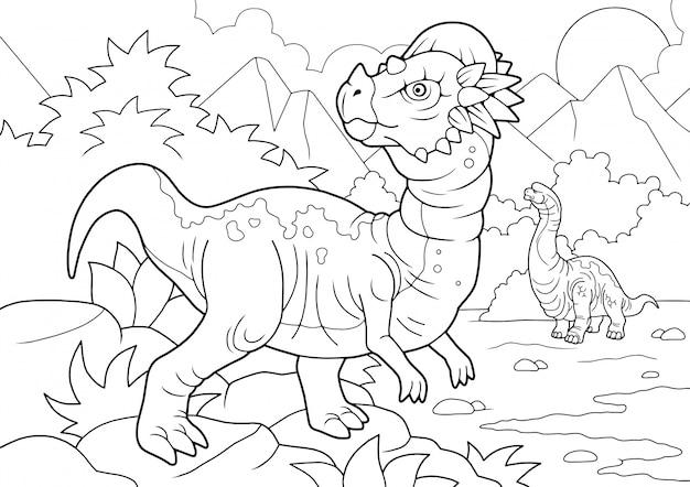 Dinosauro dei cartoni animati