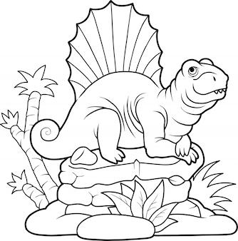 Dinosauro dimetrodon