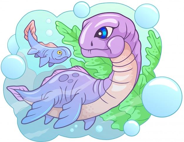 Dinosauro plesiosauro