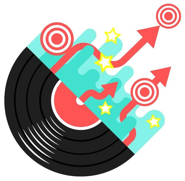 Disco musicale moderno