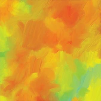 Disegnato creativo d'annata della pittura a olio della pittura del fondo