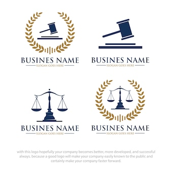 Disegni di logo di legge