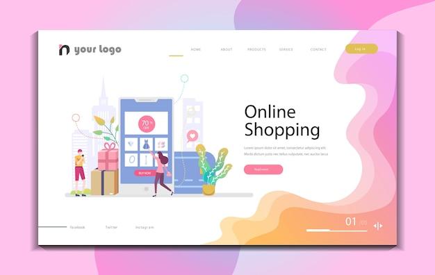 Disegni di modelli di siti web creativi