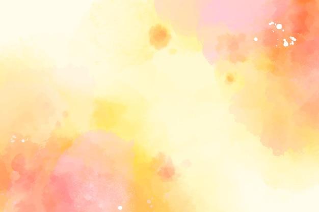 Disegno ad acquerello sfondo colorato