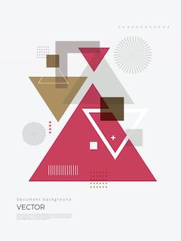 Disegno astratto geometrico