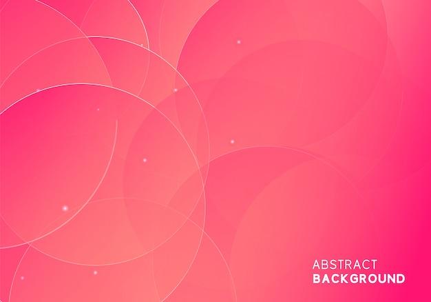 Disegno astratto moderno sfondo rosa